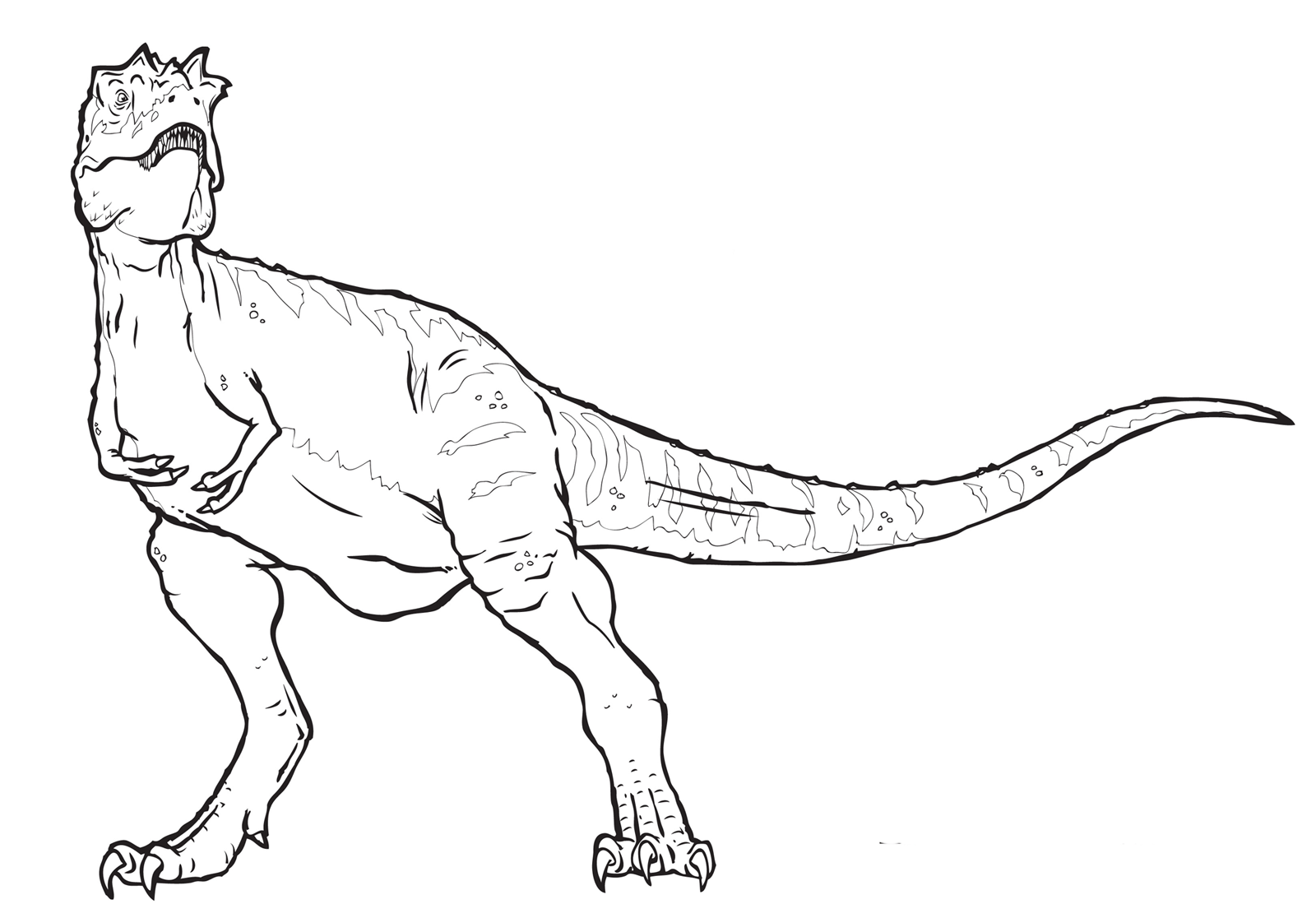 Indominus rex coloring pages sketch coloring page for Disegni da colorare dinosauri