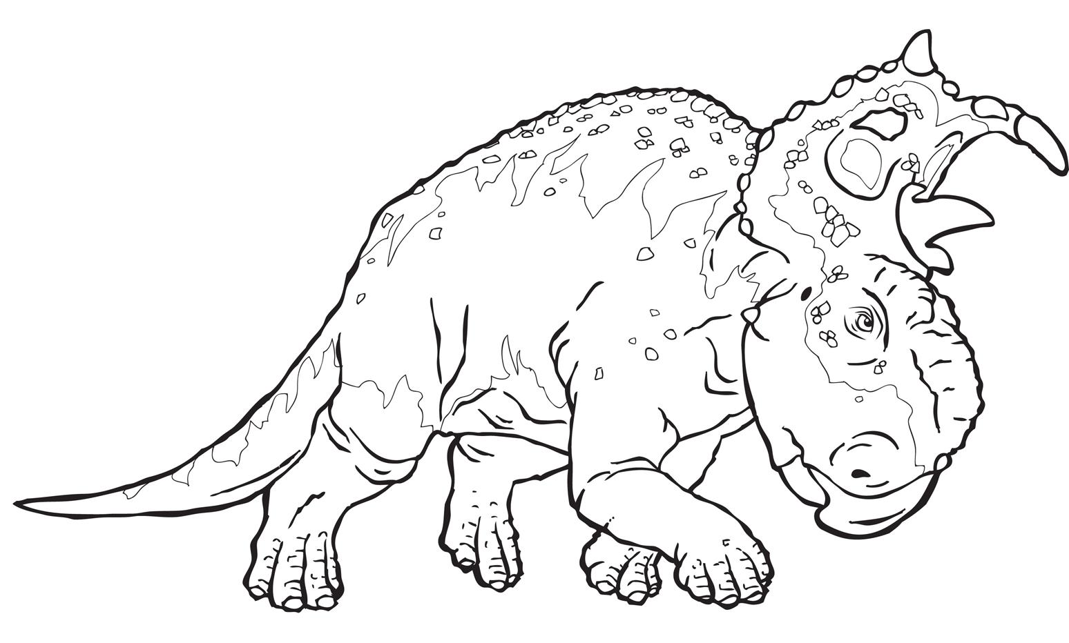 """Disegni di """"A spasso con i dinosauri"""" da colorare"""
