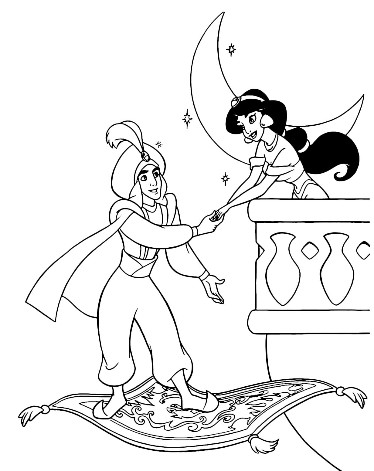 disegni da colorare sul computer delle principesse