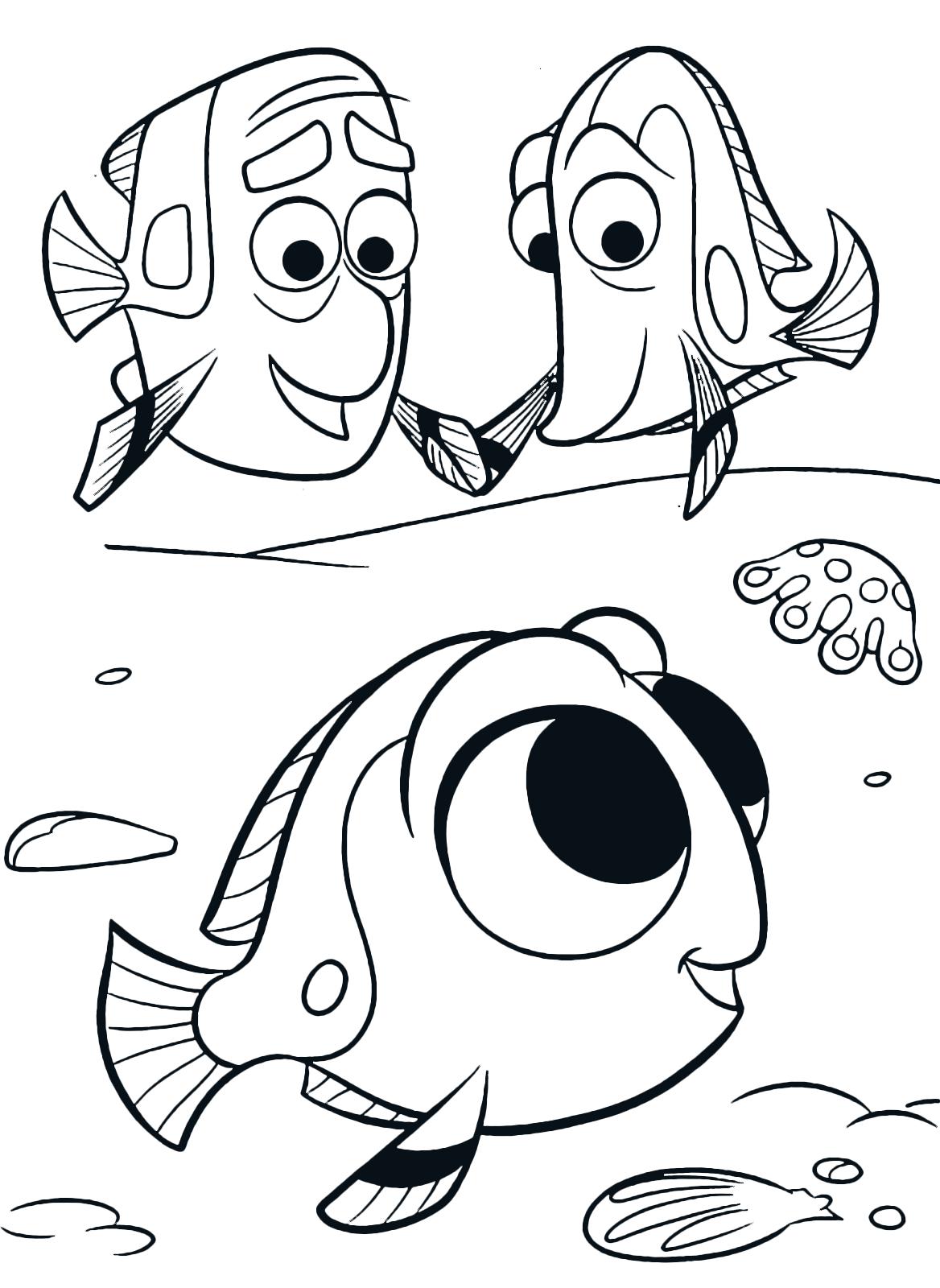 Alla ricerca di dory dory da piccola con i suoi genitori for Immagini dory
