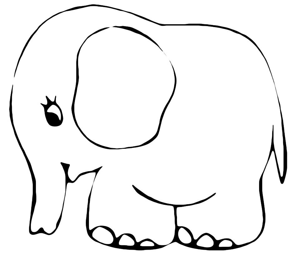 Dibujo de un osito de peluche con un lazo | Dibujos para