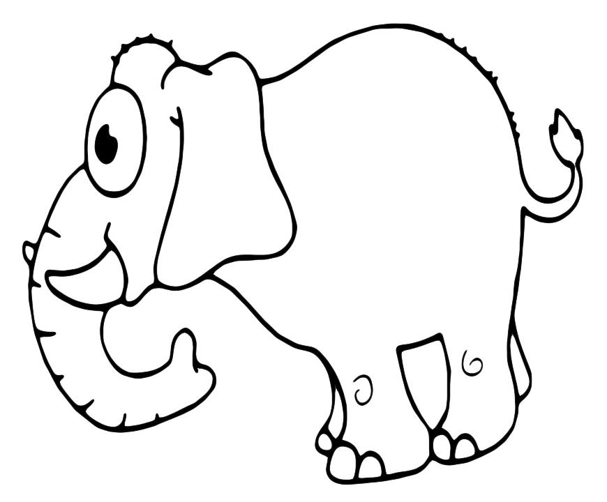 Disegni animali disegni animali da colorare tattoo - Adulto da colorare elefante pagine da colorare ...