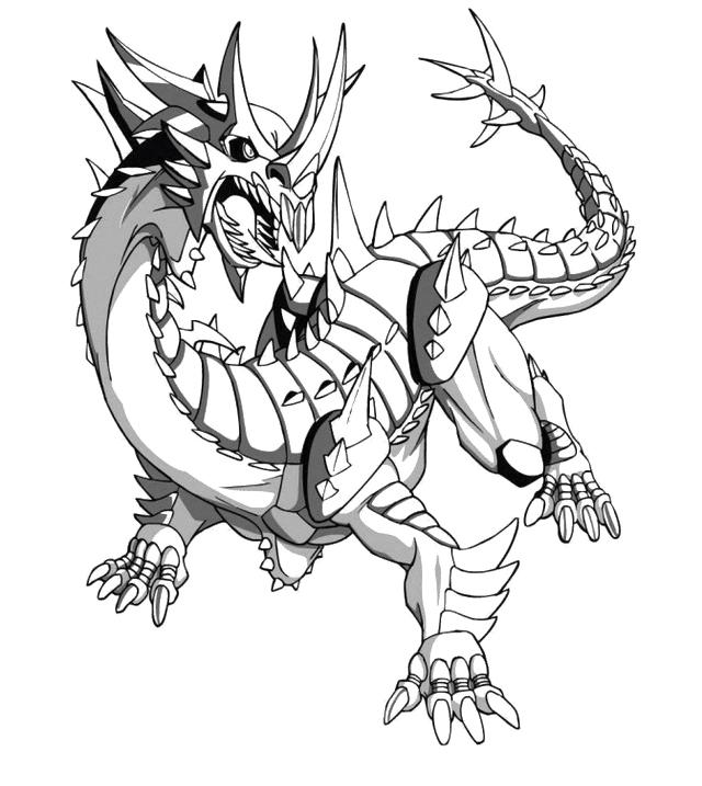 bakugan coloring pages helix dragonoid - photo#5