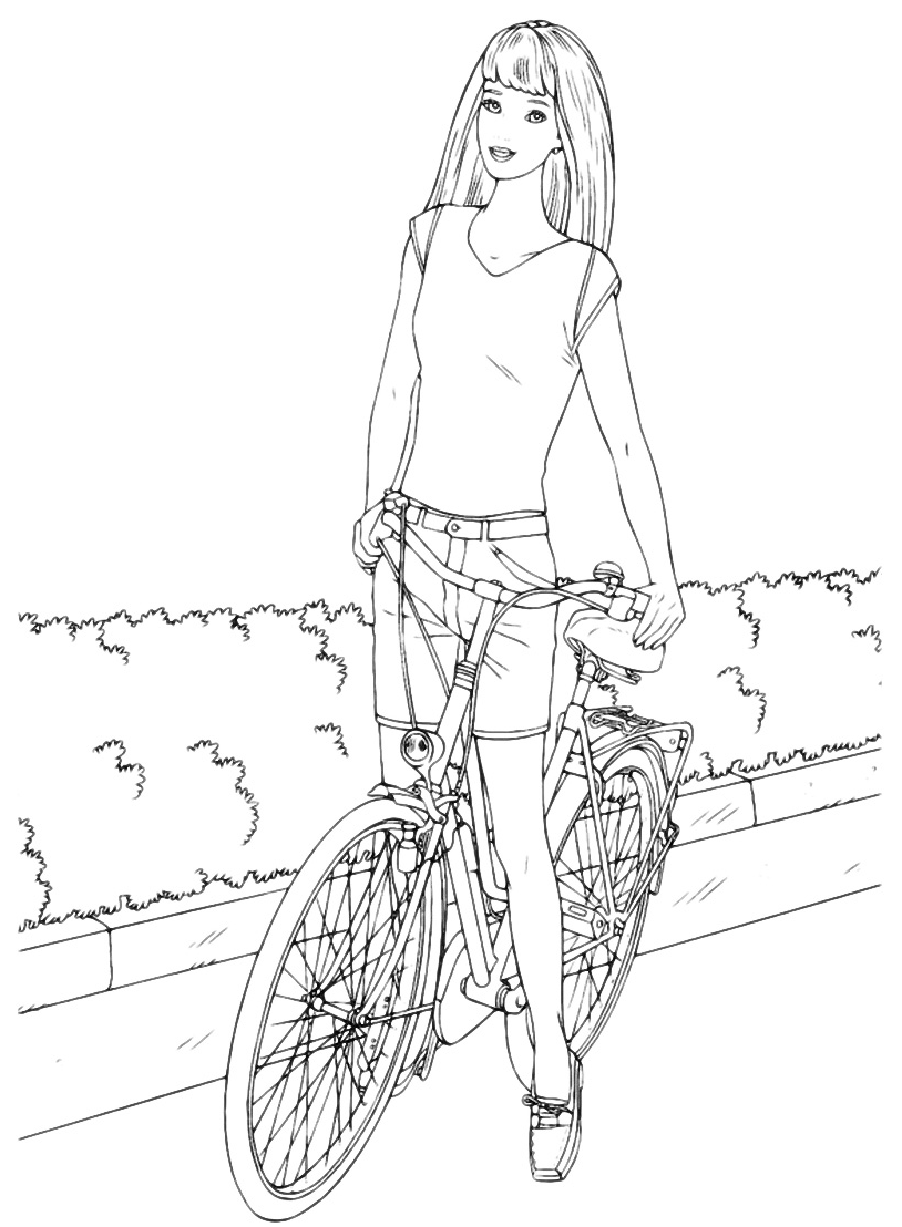 Barbie - Barbie in bicicletta