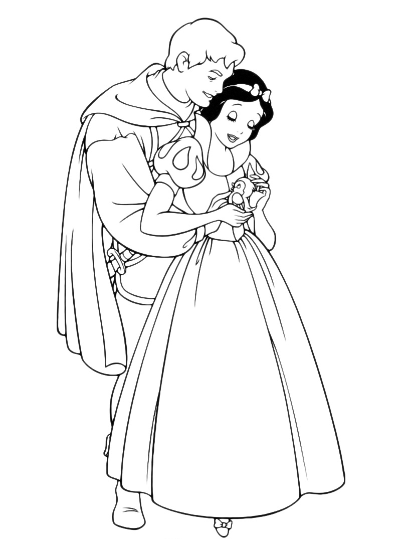 Biancaneve - biancaneve e il principe