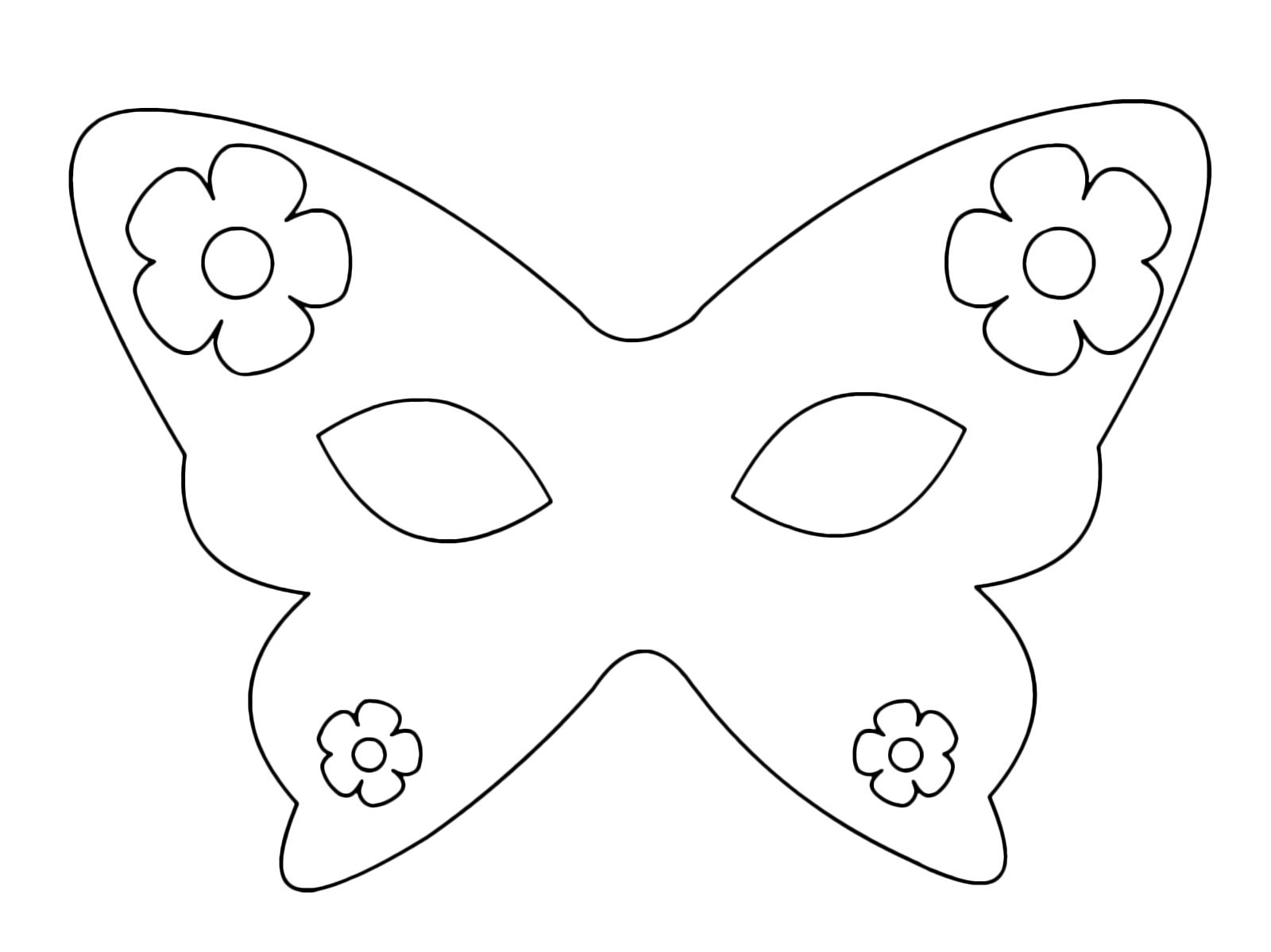 comprare popolare 2019 originale bello economico Carnevale - Una bella maschera di Carnevale da colorare