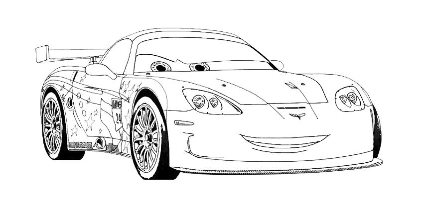 Cars 2 Jeff Gorvette