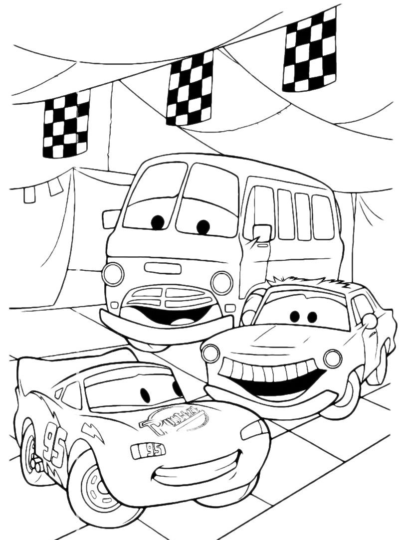 Cars Saetta Mcqueen E Fillmore