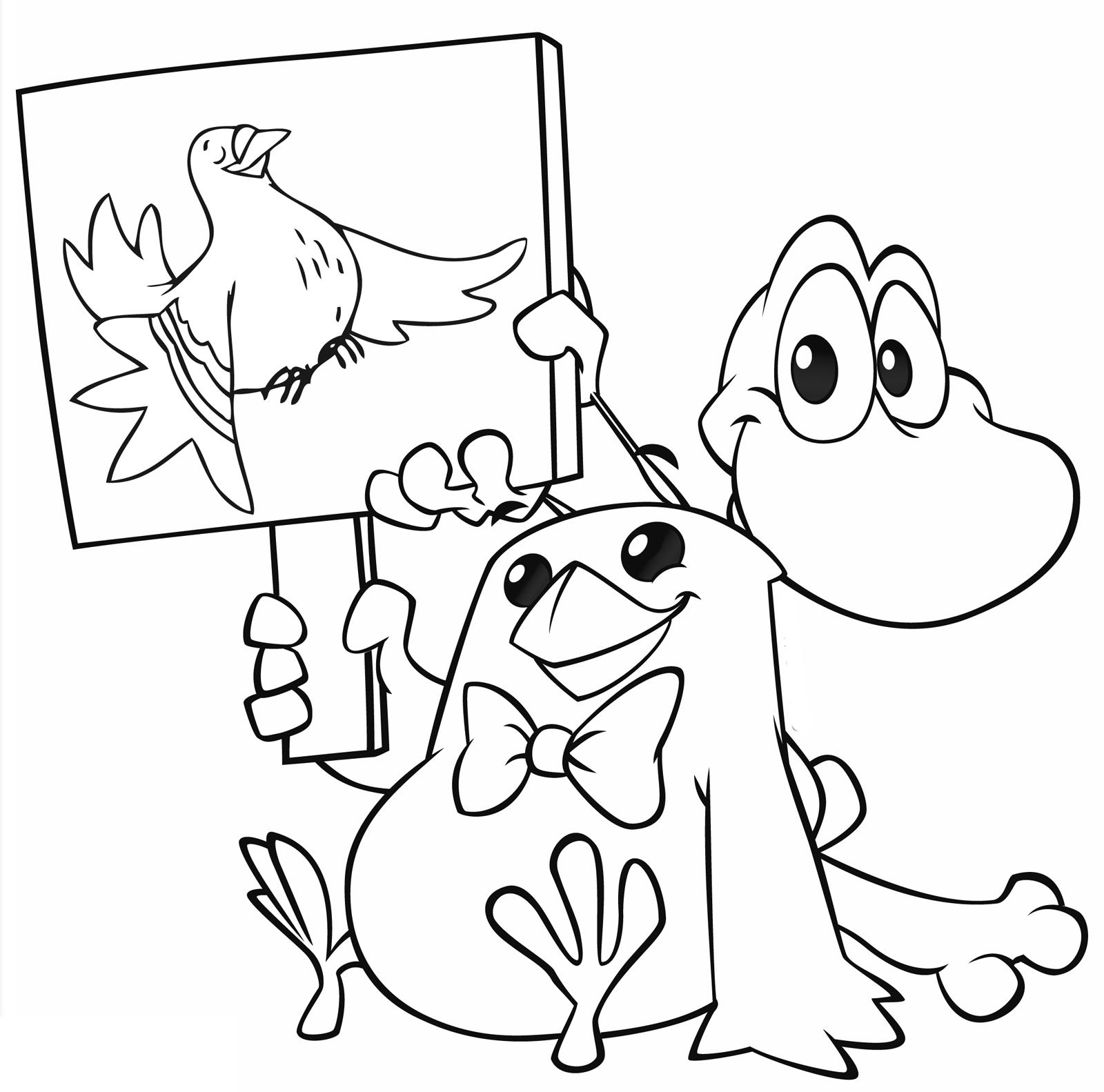 Cuccioli Pio E Senzanome Mostrano Un Cartello Della Colomba Di Pasqua