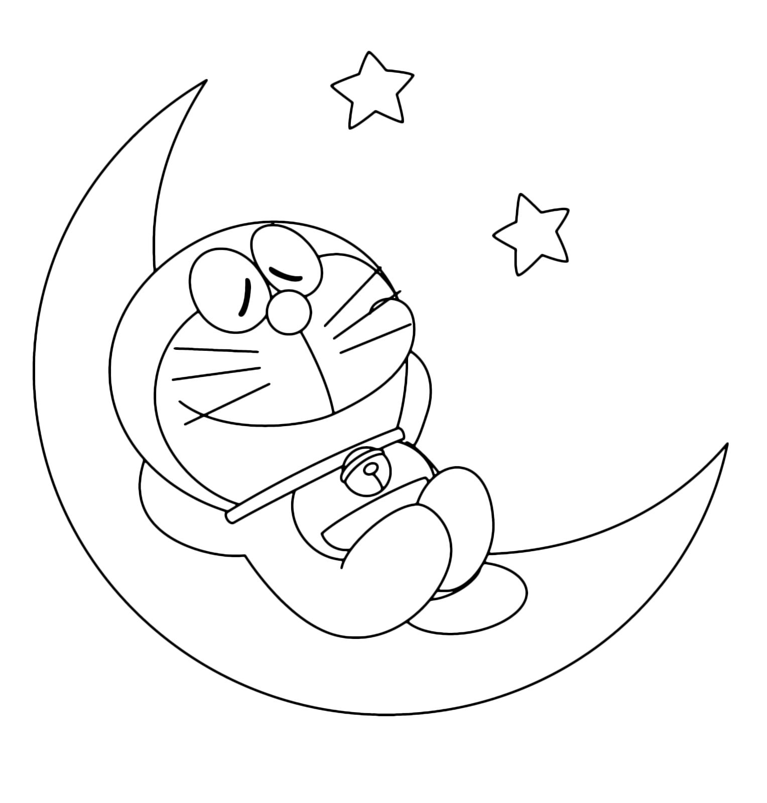 Disegni Di Doraemon Da Colorare