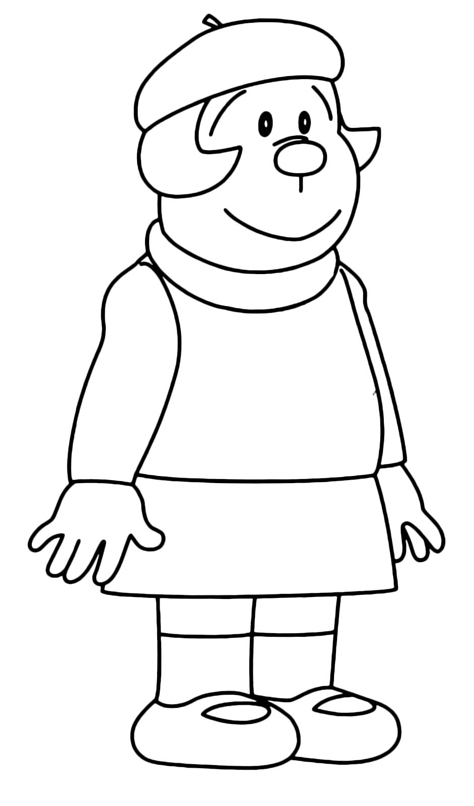 Doraemon jaiko la sorella minore di gian for Doraemon immagini da colorare