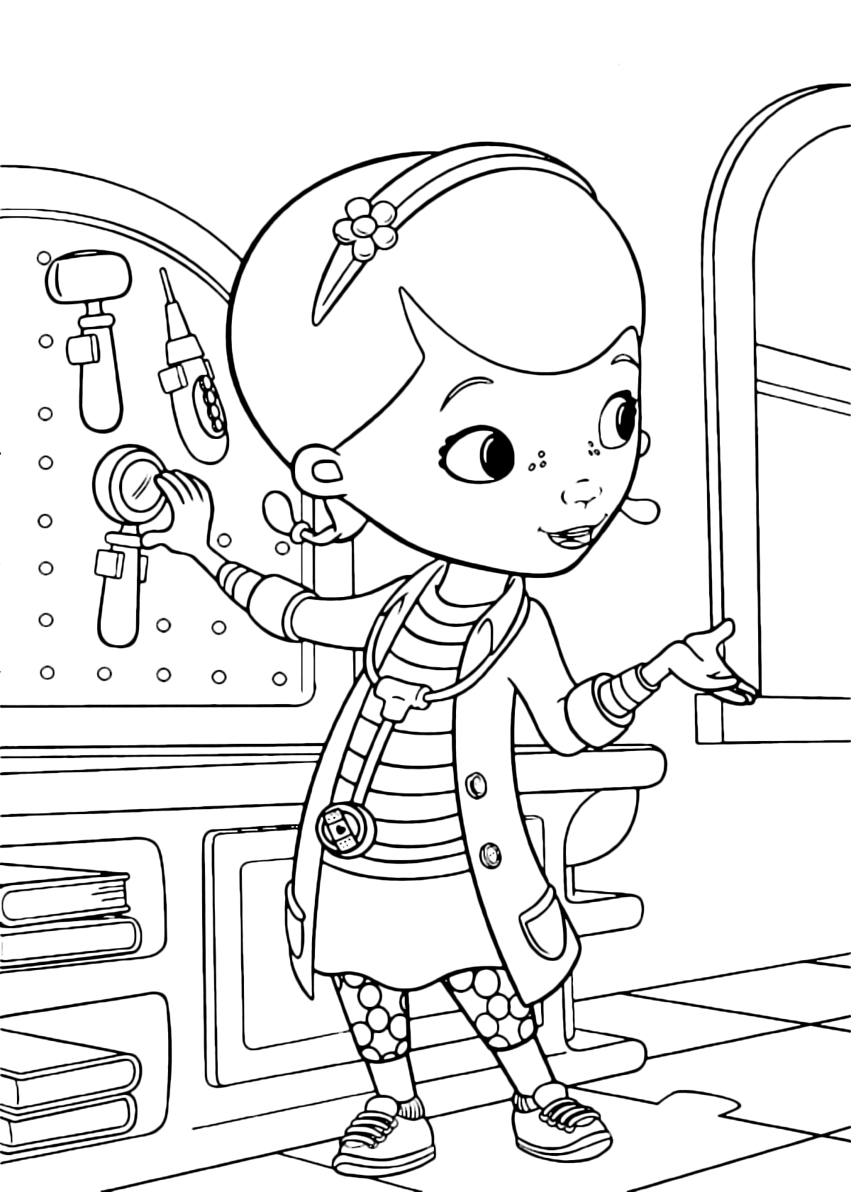 Disney liv and maddie coloring pages coloring pages for Disegni da stampare dottoressa peluche