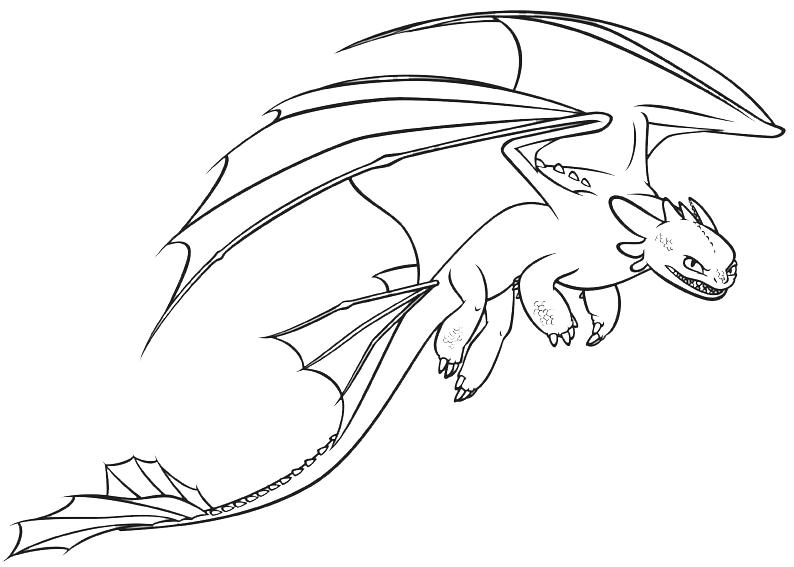 Dragon Trainer La Furia Buia Mostra I Denti