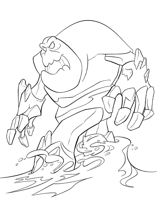 ghiaccio coloring pages - photo#45