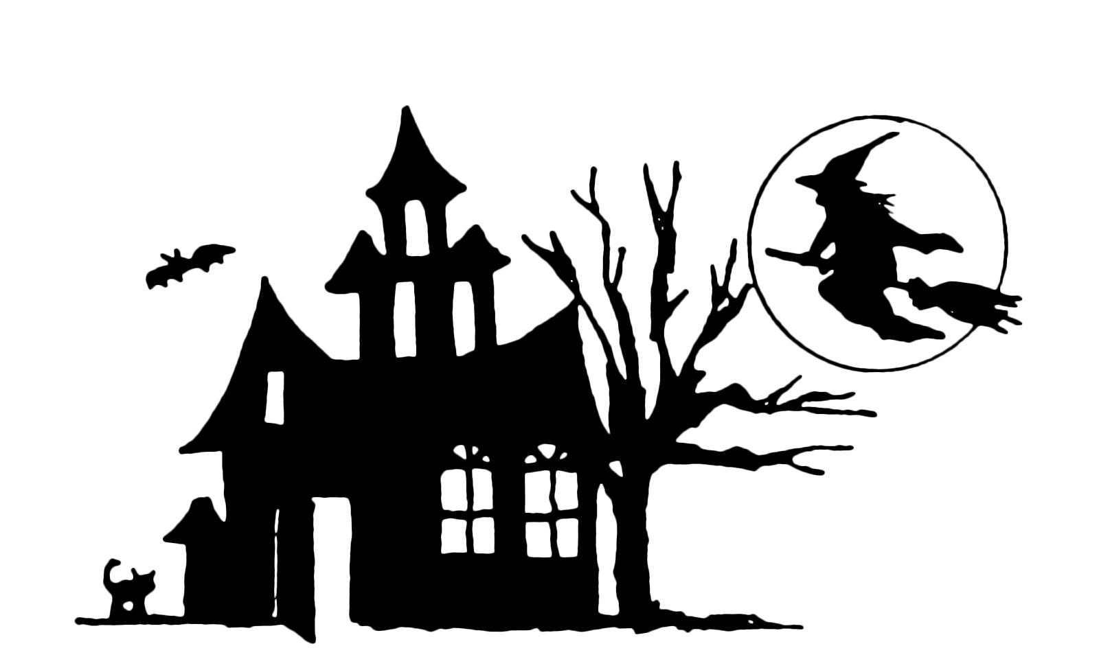Halloween la strega torna alla sua casa spettrale for Disegni halloween da colorare gratis