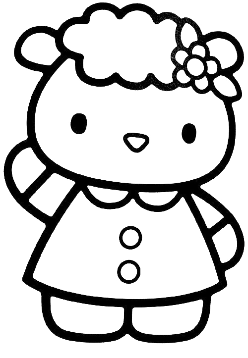 Hello Kitty - Amica di Hello Kitty