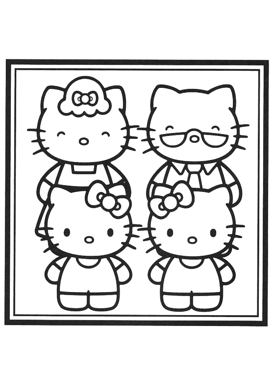 Hello Kitty - Hello Kitty con i nonni