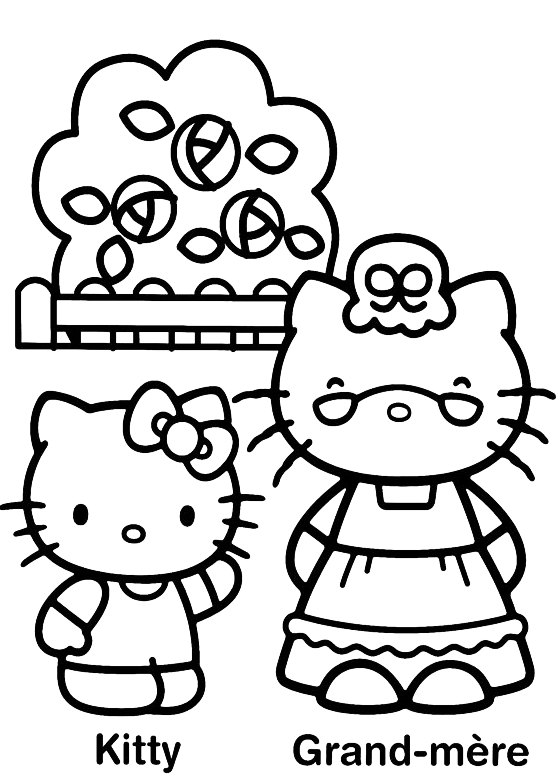 Hello Kitty - Hello Kitty e la nonna