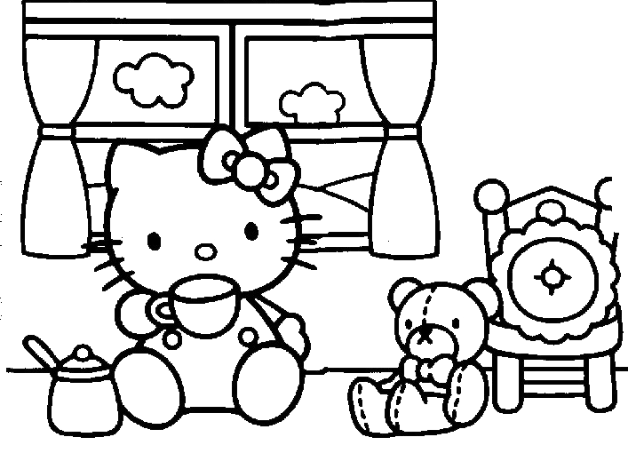 Hello Kitty - Hello Kitty fa colazione