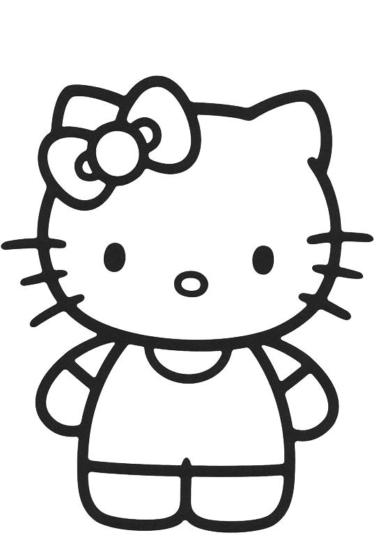 Hello Kitty - Hello Kitty in piedi