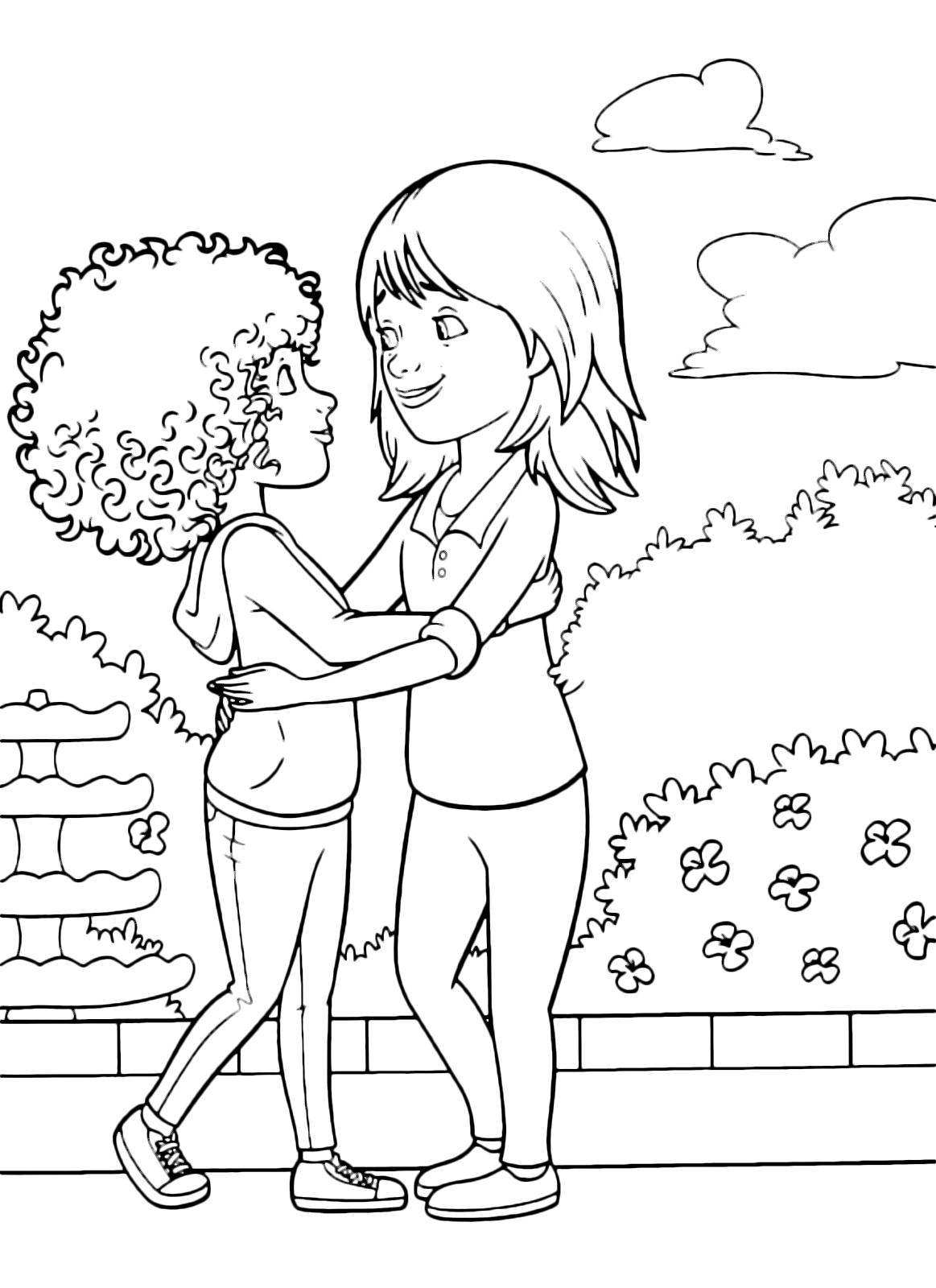 Home a casa tip abbraccia la mamma lucy - Colorare la casa ...