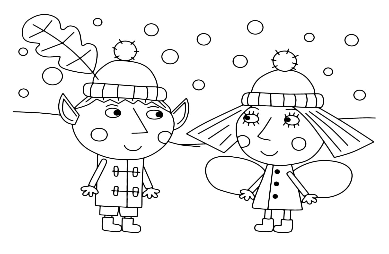 Il Piccolo Regno Di Ben E Holly Ben E Holly Insieme Sotto La Neve