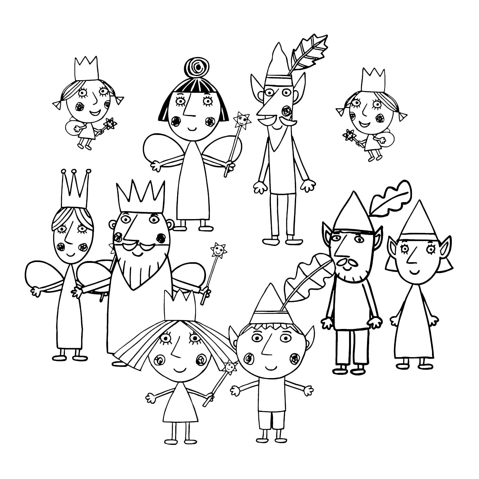 Il Piccolo Regno Di Ben E Holly Tutti I Personaggi Del Piccolo