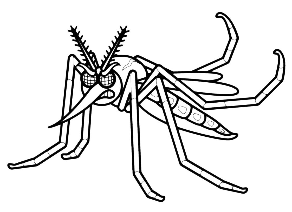 amado mosquito da dengue em desenho wc46 ivango