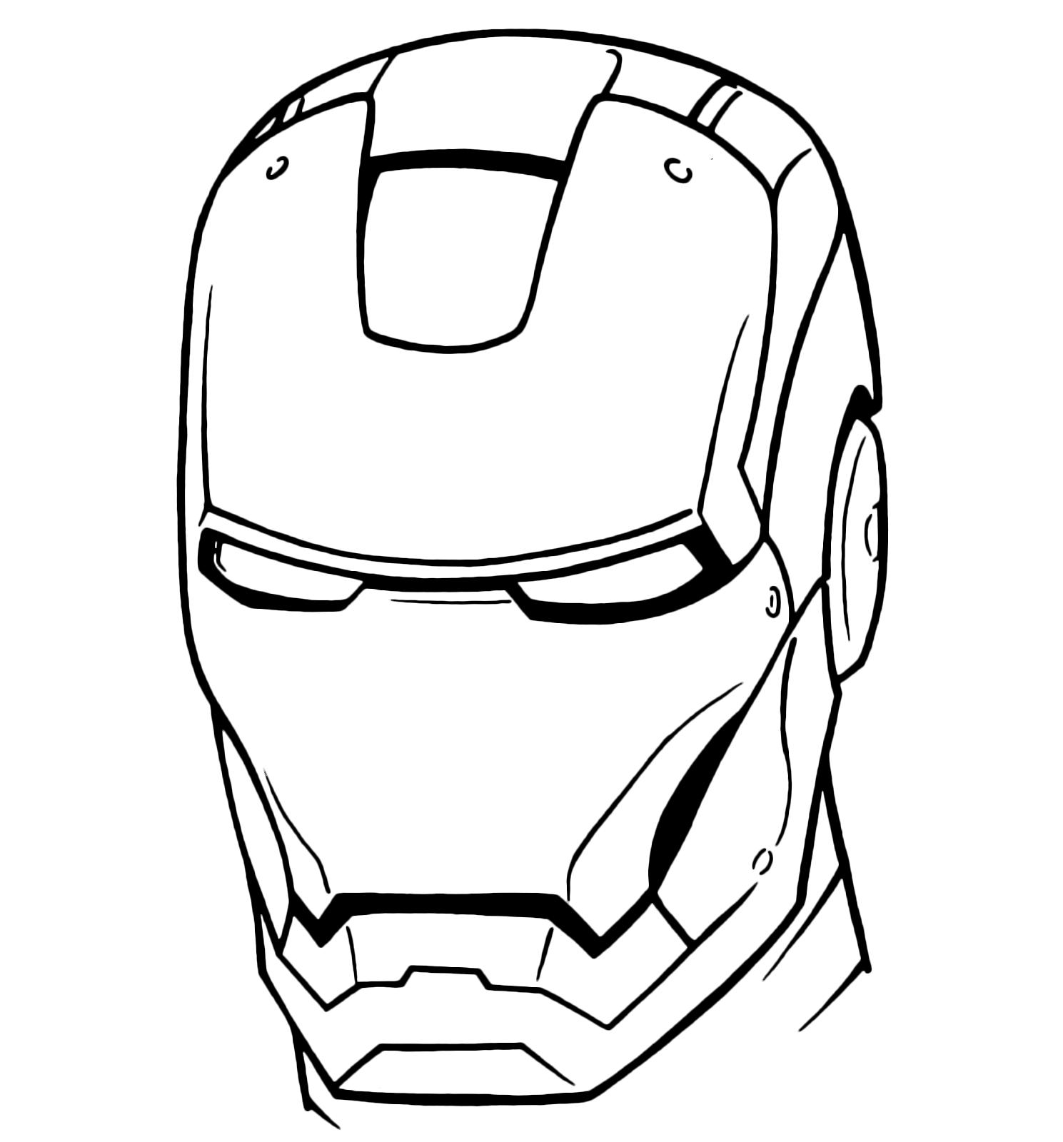 Download maschere avengers da colorare le migliori for Maschera di iron man da stampare e colorare