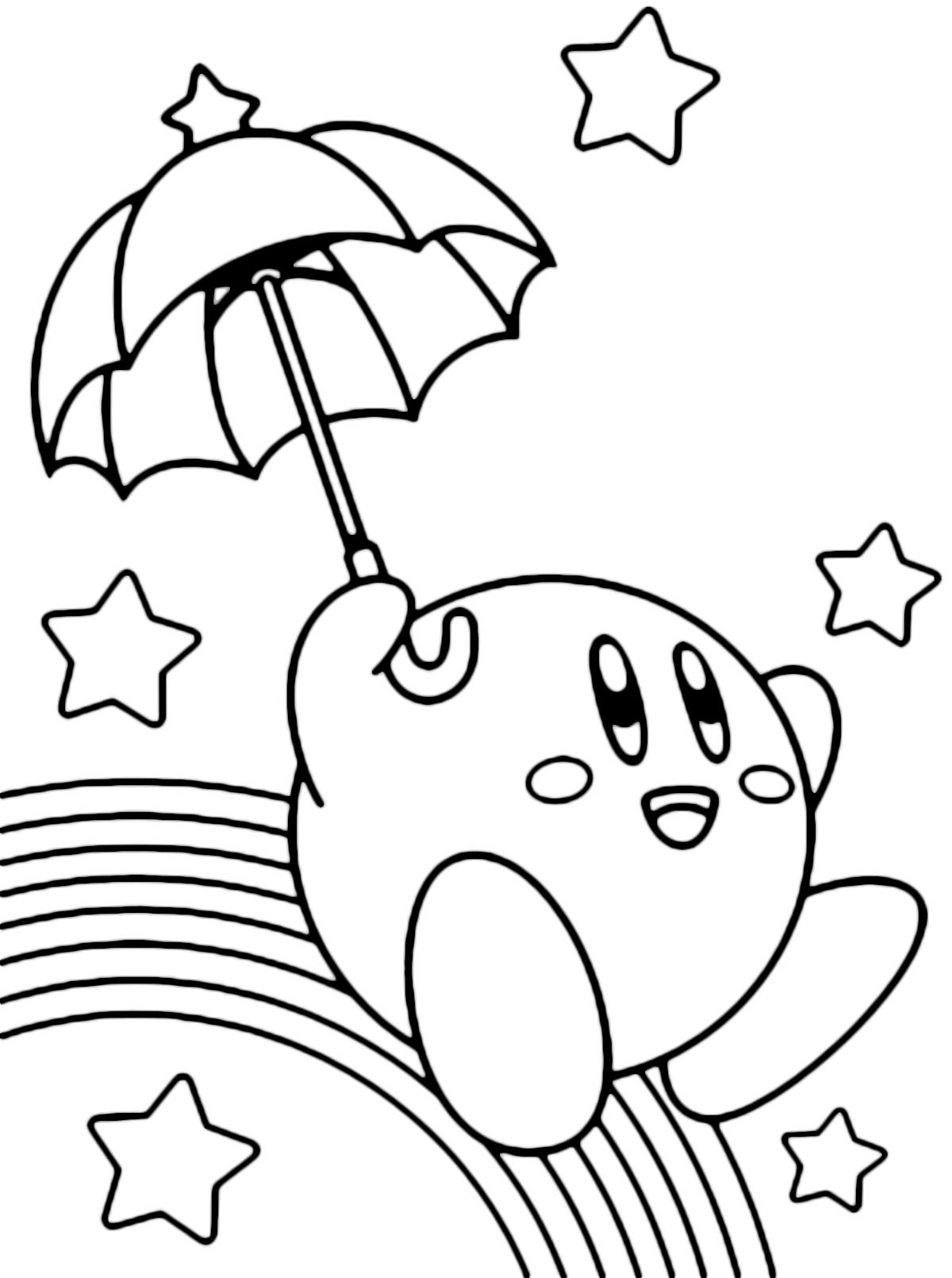 Kirby Kleurplaten Printen.Kleurplaat Nintendo Switch Malvorlagen Fur Kinder Ausmalbilder
