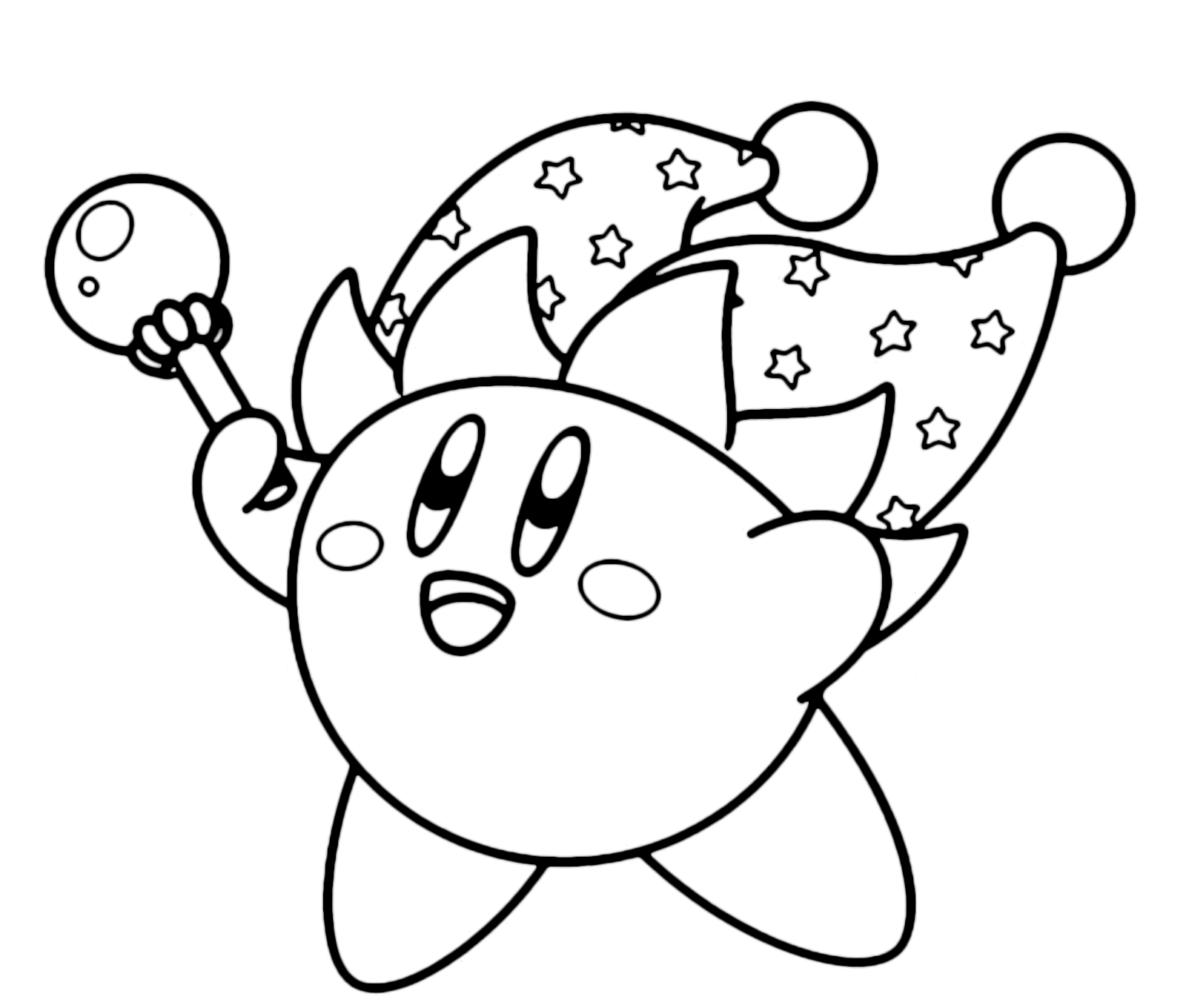 Bomb Kirby Coloring Pages Coloring Pages