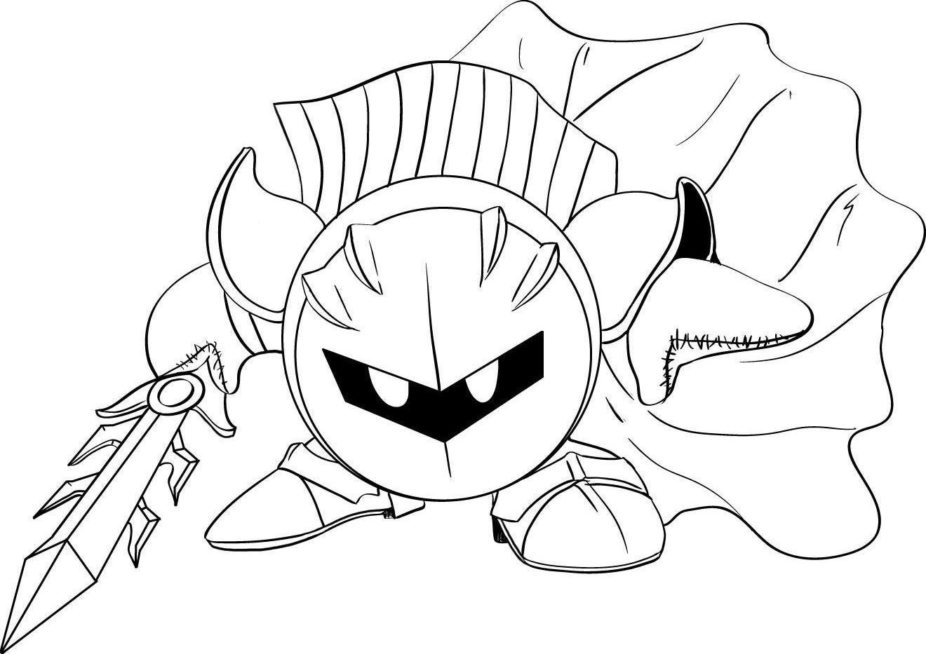 Kirby Meta Knight Il Maestro