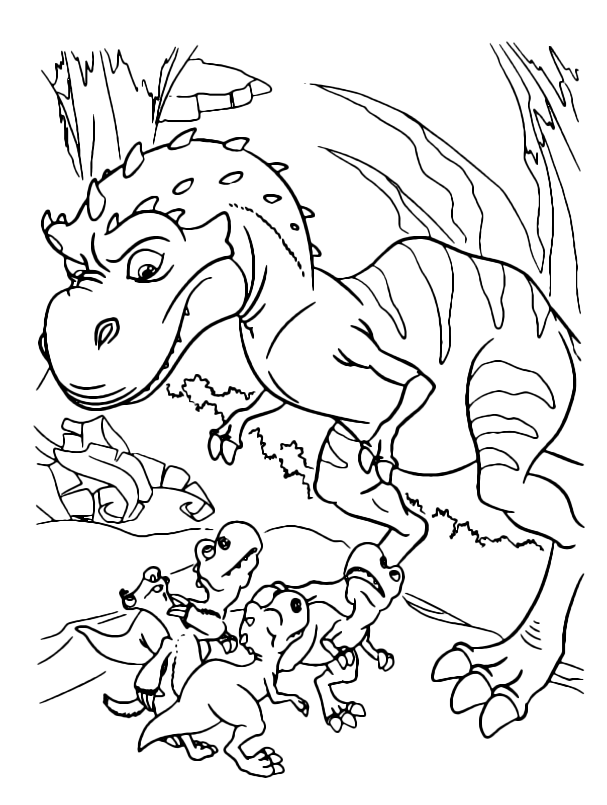 l'era glaciale  sid e i tre cuccioli di tirannosauro rex