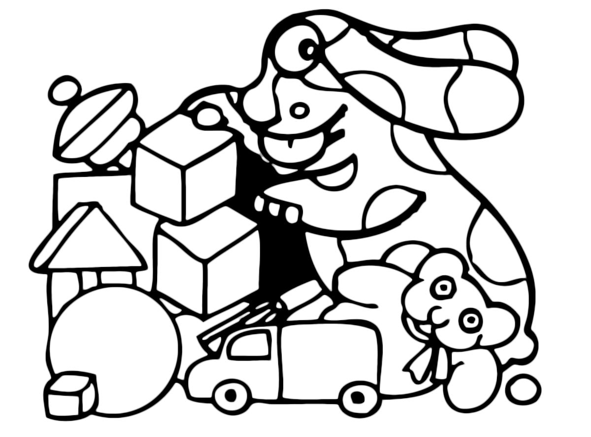 La pimpa la pimpa gioca con i giocattoli for Pimpa da colorare