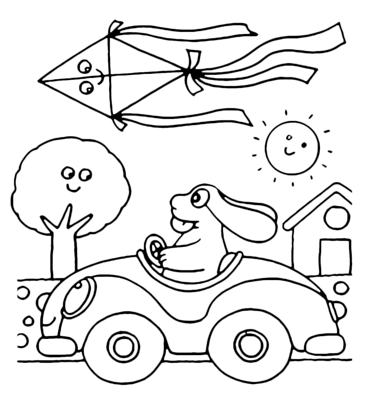 La pimpa la pimpa sfreccia in macchina a tutta velocit for Pimpa da stampare