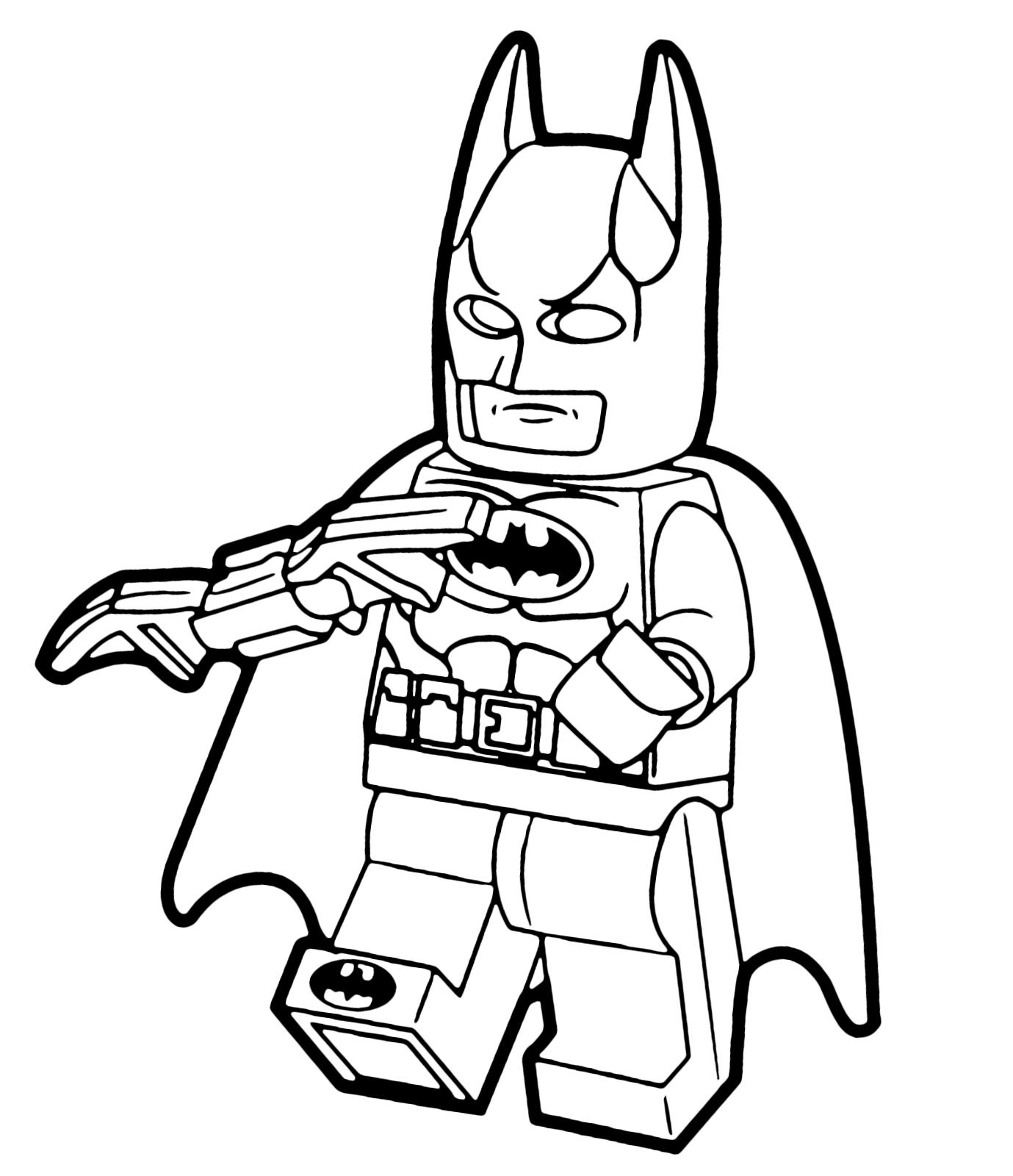 Disegni Da Colorare Batman Lego Fredrotgans