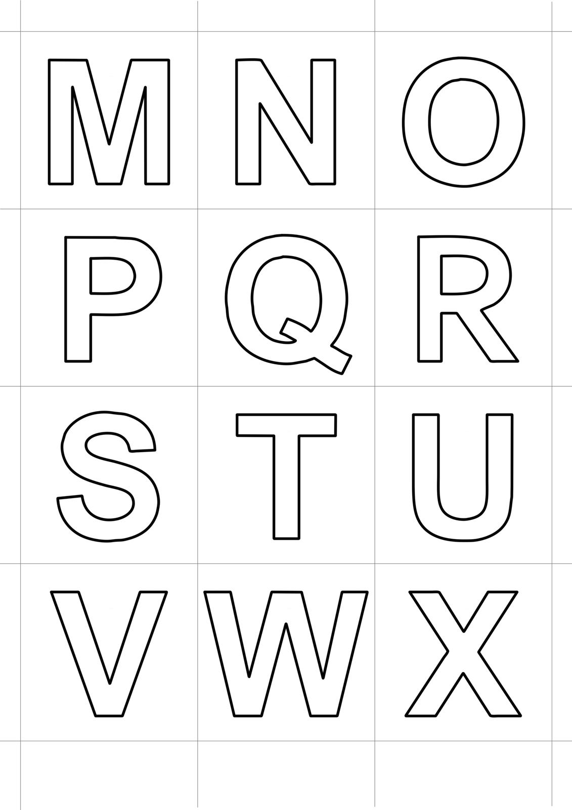 Lettere e numeri lettere stampatello dalla m alla x - Lettere animali da stampare ...