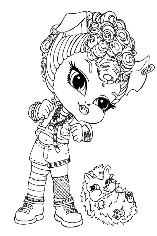 Monster High Howleen Wolf Da Bambina Con Il Suo Riccio