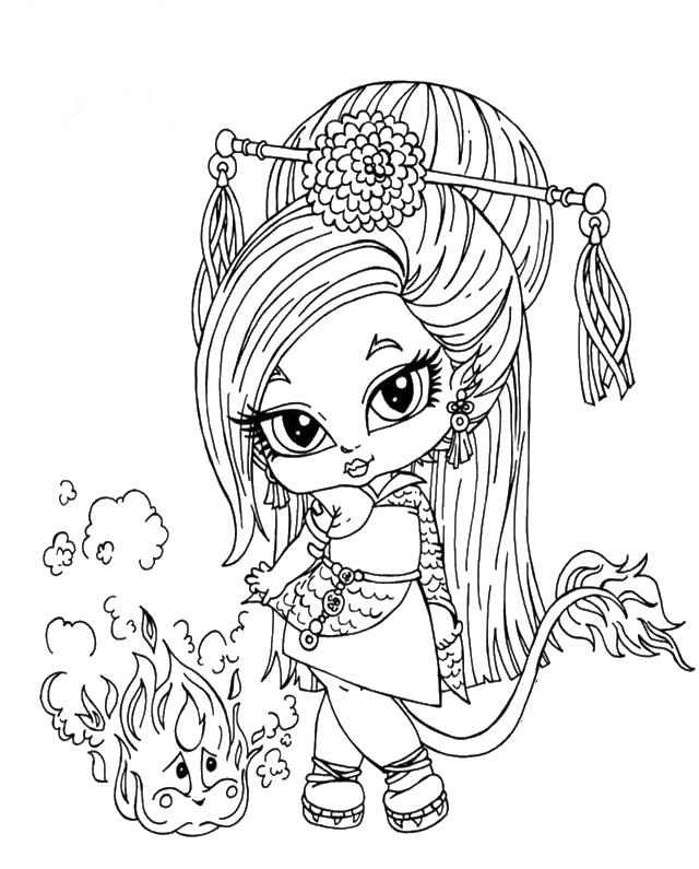 Monster High Jinafire Long Da Bambina