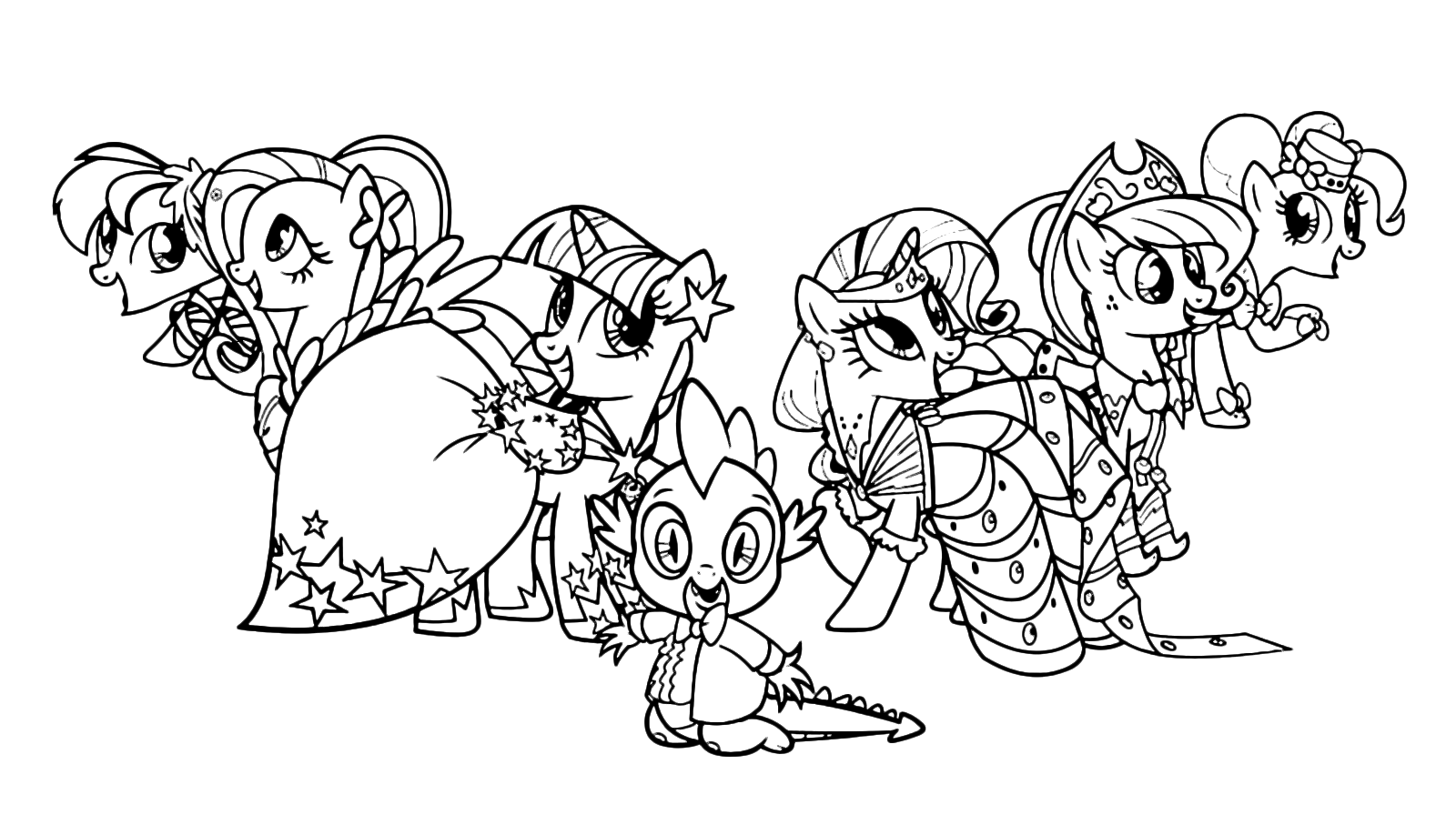 Get Free High Quality HD Wallpapers Coloring Pages My Little Pony Pdf