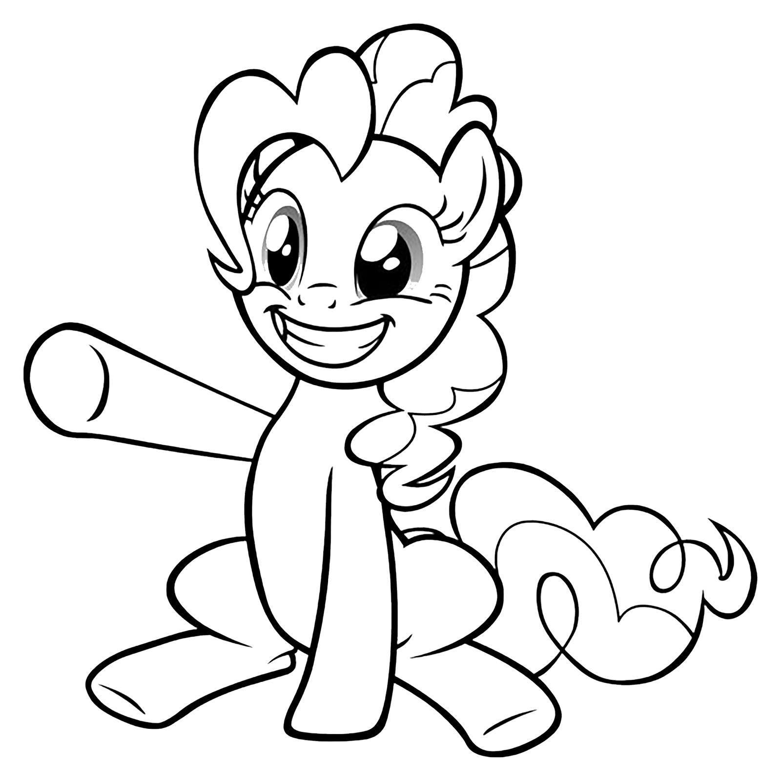 My Little Pony Pinkie Pie Alza Una Zampa E Sorride