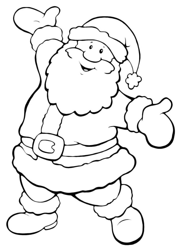 Peppa Pig Babbo Natale Da Colorare.Disegni Di Natale Da Colorare