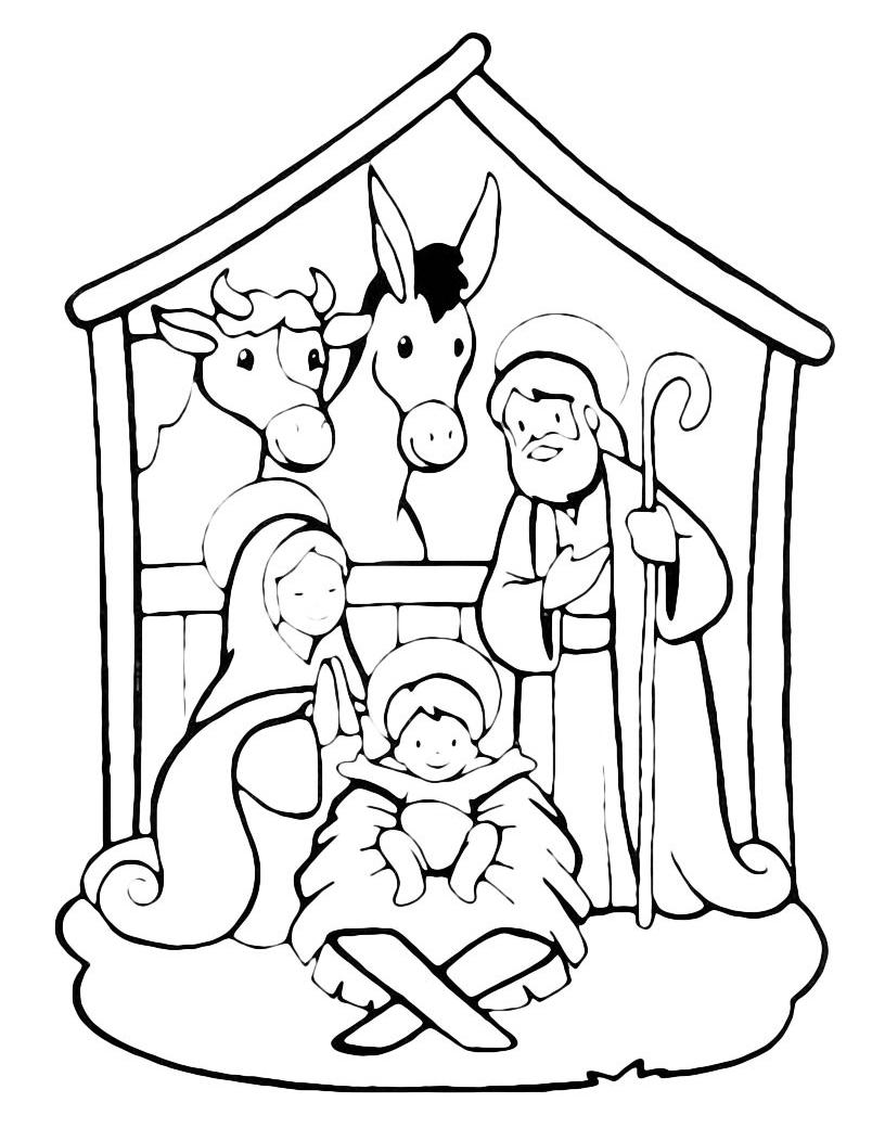 Natale Nascita Di Gesù Nella Stalla