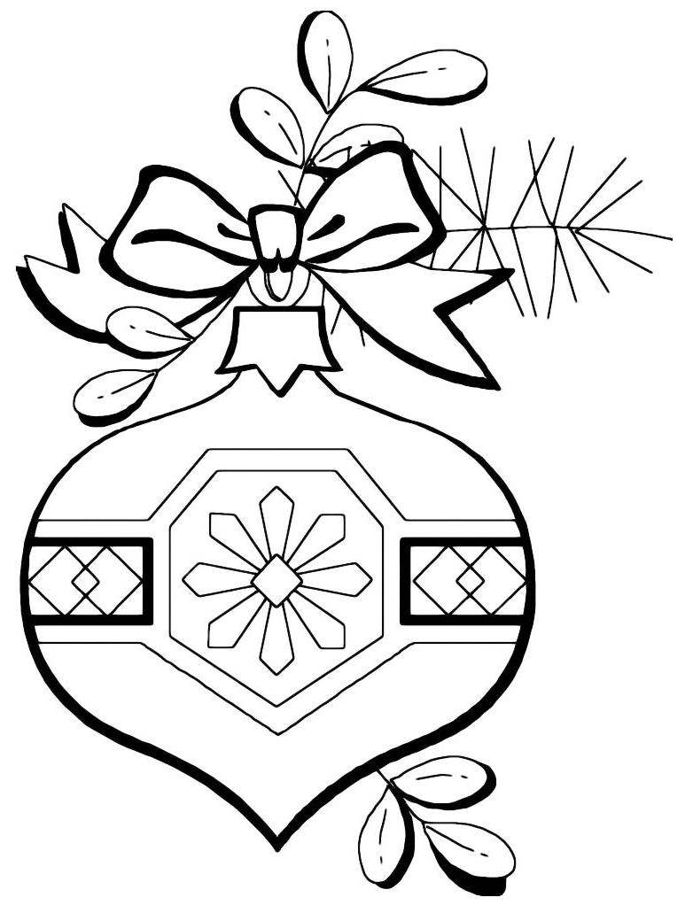 Natale Palla Di Natale Con Fiocco