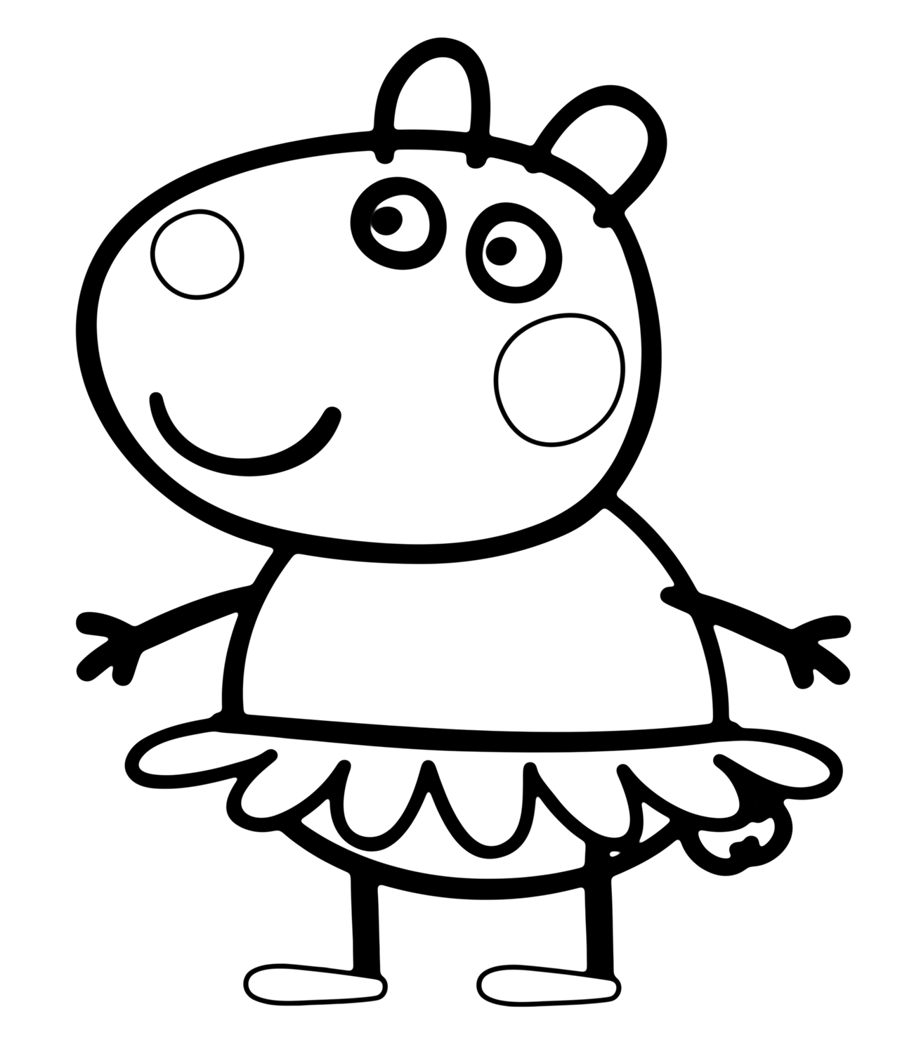 ... Photos - Peppa Pig Colouring Pages A4 Peppa Pig Colouring Pages A4