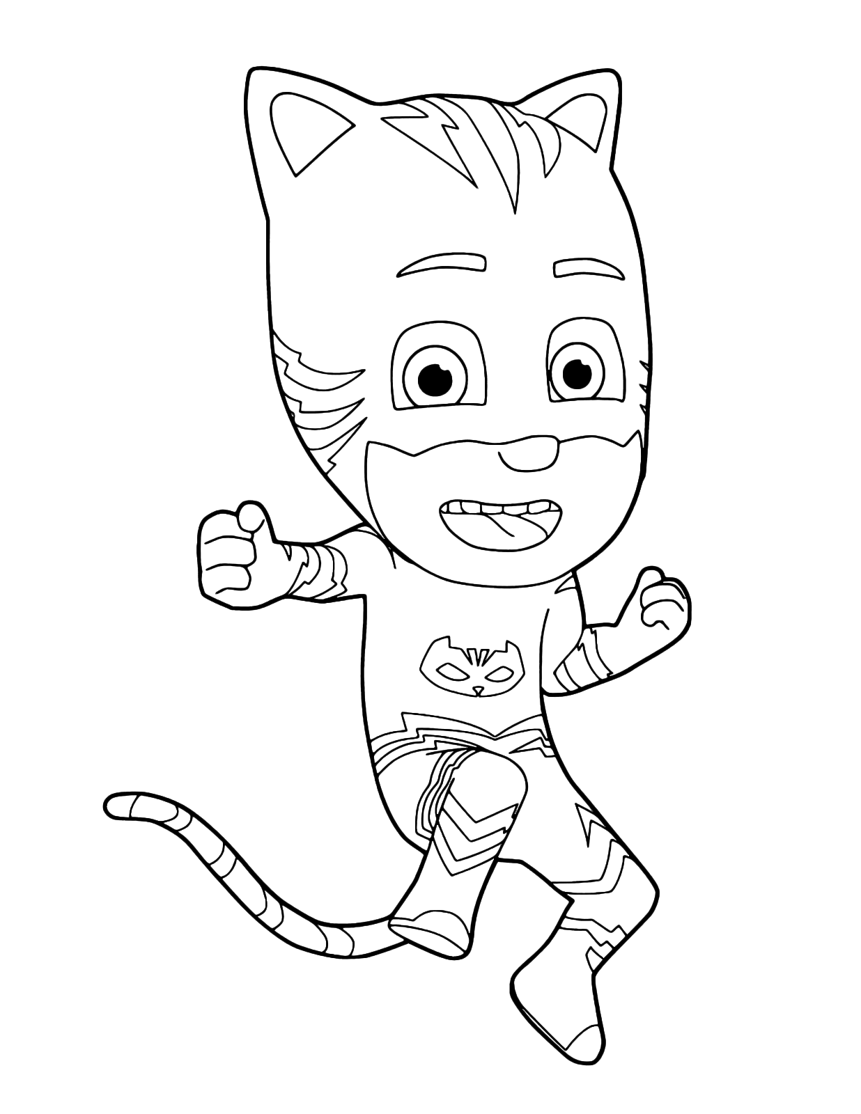 Pj masks super pigiamini gattoboy pronto all 39 azione for Pj masks disegni da colorare