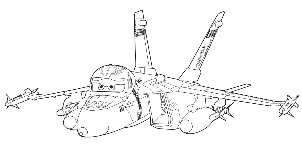 disney planes bulldog coloring pages