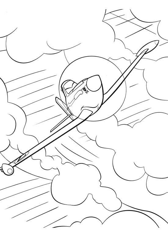 Free Coloring Pages Of Dusty Crophopper Dusty Colouring Pages