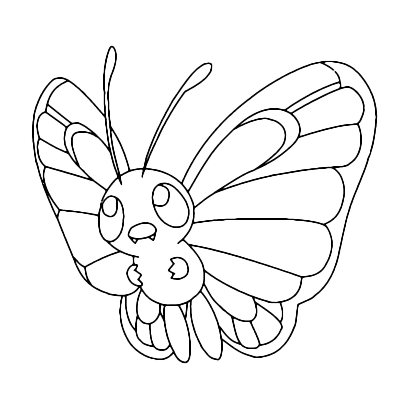 Pokémon - Gen. 1 - Butterfree - 12 - Coleottero volante