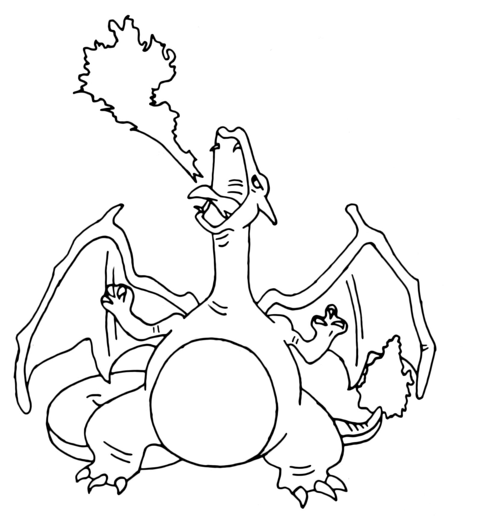 Pokémon Gen 1 Charizard Sputa Fuoco 6 Fuoco